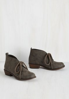 You travel the world to spread your music, and tonight you lace up these Dirty Laundry booties before sound check. Should fans spot you later, they're sure to compliment the olive-brown hue, rounded toes, and slight heels of this vegan faux-leather pair before gushing about your latest and greatest album!