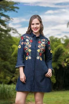 BLUSAS - PRIMAVERAL Bordados y Accesorios Cold Shoulder Dress, Spring, Summer, Dresses, Fashion, Templates, Block Prints, Shirt Blouses, Lace Tops
