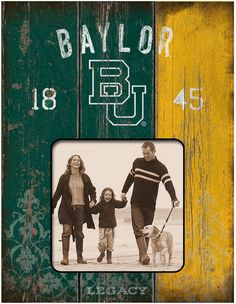 Baylor legacy family photo frame