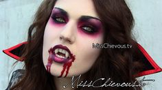 absolutely fabulous vampire makeup for #Halloween!