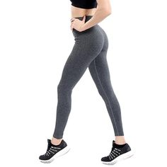 06fbbef0f30f6 Women Push Up Green Yoga Legging Elastic Fitness