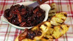 Dried Fruit Mostarda with Grilled Crostini Recipe | Mario Batali - The Chew - ABC.com