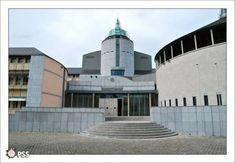 PSS / Cours de Justice (Mons, Belgique) Mons, Building, Travel, Contemporary Architecture, Urban Planning, Belgium, Viajes, Buildings, Destinations