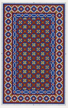 View album on Yandex. Bargello Patterns, Needlepoint Patterns, Hand Embroidery Patterns, Cross Stitch Embroidery, Cross Stitch Patterns, Palestinian Embroidery, Tapestry Crochet, Patterned Carpet, Rug Hooking