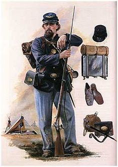 American Civil War Uniforms | American Civil War. Union Army [Brassey's History of Uniforms]