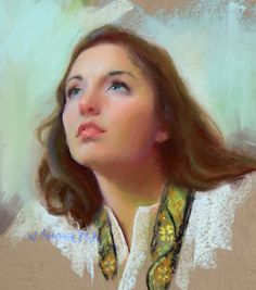 Look to the Heavens by William Schneider Pastel ~ 16 x 18
