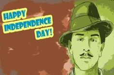 aea029037 Amore Bhagat Singh Happy Independence Day Poster Independence Day Poster,  India Independence, Happy Independence