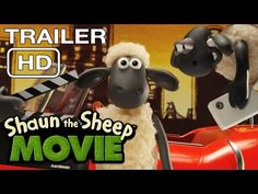 Watch the first teaser trailer for Shaun the Sheep The Movie on YouTube!