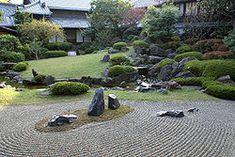 Zen Garden of Kyoto.