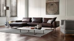 Natuzzi Italia Tempo Leather Sofa - Natuzzi Italia Philadelphia - 321 South Street - (215-515-3398)