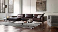 Natuzzi Italia Tempo Leather Sofa - Natuzzi Italia Philadelphia - 321 South Street - (215-515-3398)