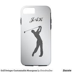 Golf-Typ-kundengerechtes Monogramm iPhone 8/7 Hülle