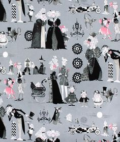 Alexander Henry A Ghastlie Family Reunion Smoke Fabric