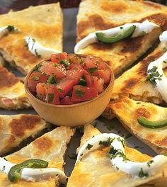 Quickie Quesadillas | Recipes | TABASCO.COM