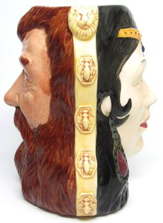 "Ltd Ed - Large Royal Doulton Character Jug ""Samson & Delilah""  Toby Mug D6787"