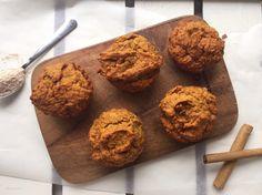 Pompoenmuffins met honing en kaneel - Beaufood
