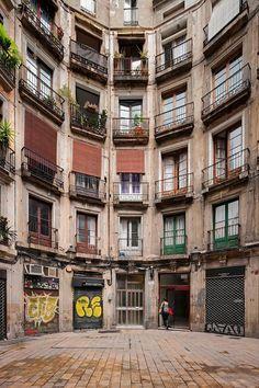 Carrer Milans de Barcelona