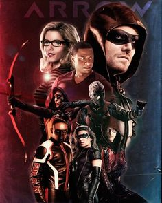 Team Arrow season 6  Photo credit @OlicityDreams on Twitter . . . #arrow #stephenamell #poster #fanart
