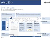 Great set of quick start guides for MS Office Suite (Publisher, Word, Access, etc)