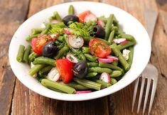 Cómo preparar ensalada de judías verdes Banana French Toast, Kung Pao Chicken, Cobb Salad, Feta, Salad Recipes, Salads, Ethnic Recipes, Healthy Salads, Eating Clean