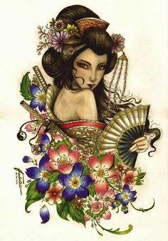 Best Geisha tattoos