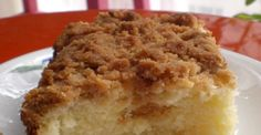 Sour cream makes this coffee cake moist and delicious, but the brown sugar, cinnamon, and pecan streusel is the real star.