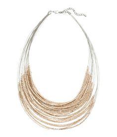 multistrand necklace | H&M US
