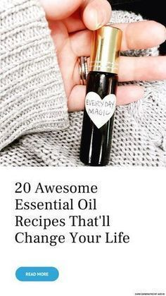 20 Awesome Essential Oil ⚗️ Recipes That& Change Your Life . - - 20 Awesome Essential Oil ⚗️ Recipes That& Change Your Life … 20 Awesome Essential Oil ⚗️ Recipes That& Change Your Life … Essential Oil Perfume, Doterra Essential Oils, Natural Essential Oils, Relaxing Essential Oil Blends, Essential Oil Roller Bottles, Diy Essential Oil, Patchouli Essential Oil, Young Living Oils, Young Living Essential Oils