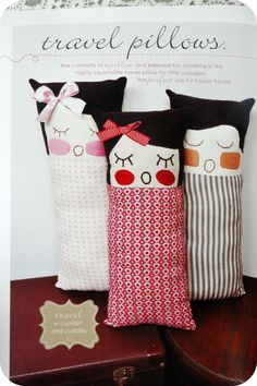 travel pillows .. tut @ tickletheimagination.com.au