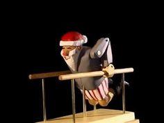 ▶ Training for Christmas - Exercising Santa Automaton - YouTube