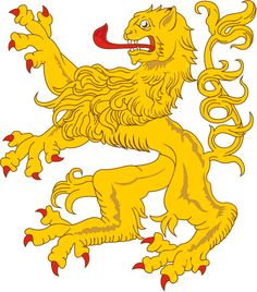 File:Heraldic Lion 18.svg