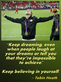I would give anything to reach my goal of becoming a professional soccer player. So many people doubt you and will put you down for dreaming so big, but believe in yourself and you can do it! Soccer Quotes, Sport Quotes, Play Soccer, Soccer Pro, Soccer Girls, Basketball, Athlete Quotes, Soccer Motivation, Soccer Poster