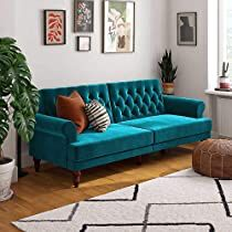 Check this out at Amazon Furniture Decor, Living Room Furniture, Living Room Decor, Velvet Furniture, Dining Room, Sofa Bed Green, Minimalist Sofa, Futon Sofa, Sleeper Sofa