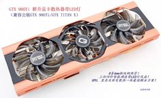 88.20$  Buy now - http://ali6zw.worldwells.pw/go.php?t=32691700205 - New Original Graphics card cooler with LED lamp for Gainward GTX980Ti (compatible GTX 980Ti/GTX TITAX) 88.20$