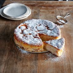 A cream torte is like a cross between a cake, a custard, and a dutch baby. The tender-sweet varieties of apples used here soften more...