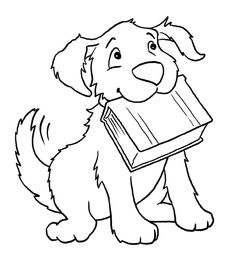 Cool Dog Coloring Pages from Animal Coloring Pages category. Printable coloring pictures for kids that you can print and color. Have a look at our collection and printing the coloring pictures free of charge. Puppy Coloring Pages, Easy Coloring Pages, Coloring Pages To Print, Printable Coloring Pages, Coloring Sheets, Coloring Books, Coloring Pictures For Kids, Coloring Pages For Kids, Kids Coloring