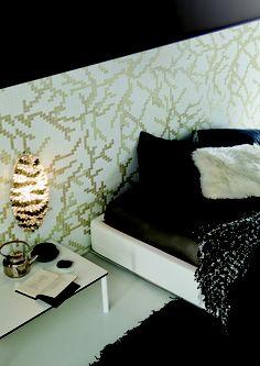 Trend Group Flourish mosaic tile wallpaper - Splash Showroom