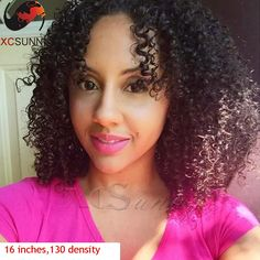 116.90$  Watch now - http://ali2f4.worldwells.pw/go.php?t=32477381986 - HOT Sale!7A  Indian Kinky Curly Lace Front Wig Afro Kinky Curly Full Lace  Wigs Human Hair kinky Curly Afro Lace Front Wig
