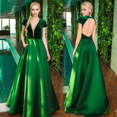 Vestido Longo Verde Para Formatura 2016 Coloridos 7