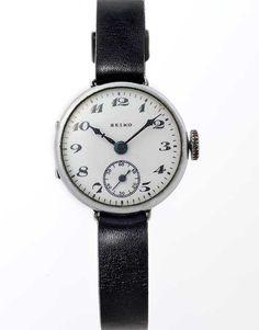 Seiko: Primeiro Relógio de Pulso 1924