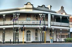 The Australia Hotel, Kalgoorlie, Western Australia.