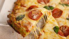 Gluten-Free Broccoli Crust Pizza Recipe