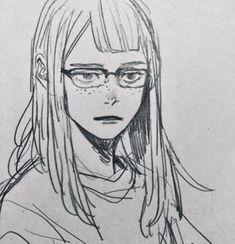 sketches of love Cute Drawings, Cartoon Drawings, Arte Sketchbook, Wow Art, Art Studies, Character Drawing, Anime Art Girl, Aesthetic Art, Art Tutorials