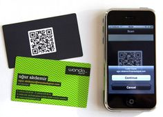 QR Codes are excellent to add to business cards and promotional items. Bonus: they are super easy and free!