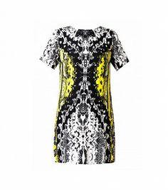 @Who What Wear - Styligion Petal Printed Dress ($83)