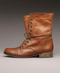 Steve Madden Combat Boot-