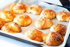 Brioche broodjes by Susan Aretz – Eat Live Travel Pretzel Bites, Live, Nutella, Bread, Food, Travel, Drinks, Brioche, Meal