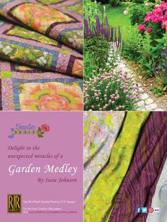 Inspired by the colors of your garden!