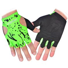 Gym Body Building Training Fitness Gloves Sports Weight Lifting Exercise Slip-Resistant Gloves