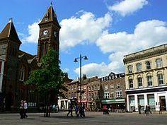 Newbury, Berkshire, UK.  I used to work in Midland Bank, just opposite the clock tower.